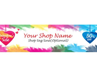 Custom Shop Banner Design