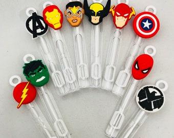 Superhero Bubble Party Favors, Superhero Party Supplies, Superhero Party Favors, Superhero Birthday, Superhero Stocking Stuffers