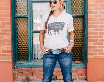 Bison Shirt, Boho Shirt, Country Shirt, Womens Shirt, Gypsy Shirt, Inspirational Shirt, Trendy Shirt, Bella Canvas Shirt, Comfy Shirt,