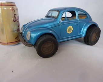 VW Volkswagen Vintage Battery Operated Made in Japan No Fall Hot Rod