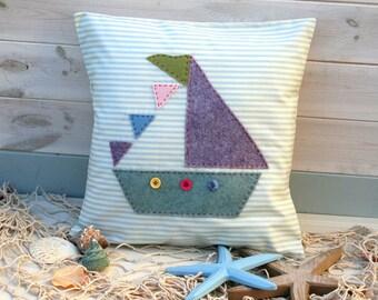 Sailboat Cushion Sewing Kit