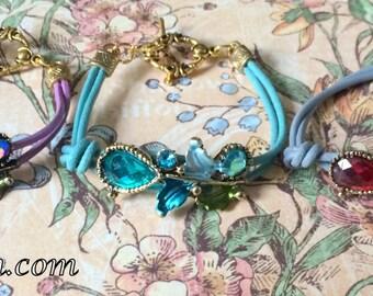 Fairy Flowers, bracelet, elves bracelet, gift,fairies bracelet, elves jewelry, fairies jewelry, fairy, elf, gift for Valentine's Day,