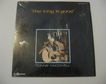 Ronnie McDowell - The King Is Dead - 1977