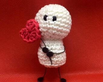 Bigli Migli Valentine's Day Amigurumi With Heart