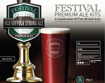 Festival Premium Ale Beer Kit Old Suffolk Strong Ale