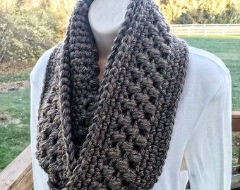 Little Rock Infinity Cowl - Crochet Pattern