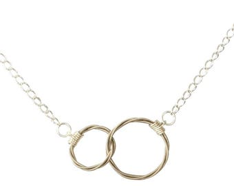 Harmony Sterling Silver and Guitar String Necklace
