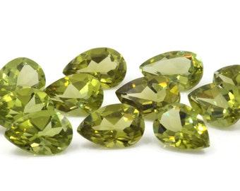 Peridot | Natural Peridot | Peridot Gemstone | Peridot Loose Gemstone | August Birthstone |  Green Peridot pear 1 Pc 1.40ct  9x6mm