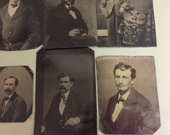 Old TinTypes from Mid to 1800's