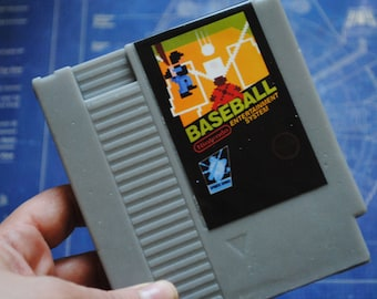 NES Besball Cart parody Soap - Retro and geeky! - NES Cart Soap - retro gamer, geeky, nerdy