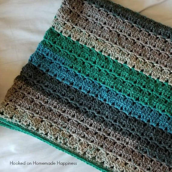 Baby Blanket Crochet PATTERN Crochet Afghan Pattern