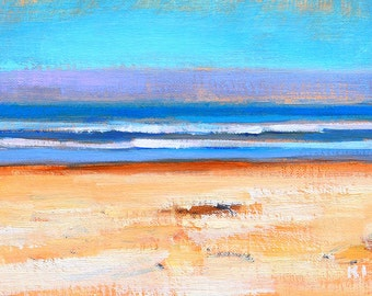 Coronado Beach Landscape Painting Original Oil
