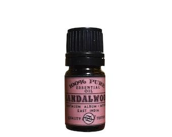Sandalwood Essential Oil, Santalum album, Mysore, East India - 5 ml