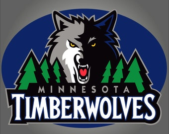 Minnesota timberwolves  Nba  svg png dxf eps jpeg svg files, cricut, silhouette cut file  Vector Cut File