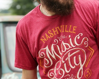 Music City - T-shirt