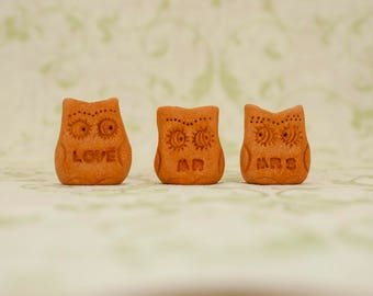 Mr and Mrs Bride and Groom Wedding favors Love sign Love cake topper Wedding decor Personalized gift Home decor Home gifts Christmas gifts