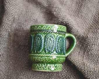 Green Rope Mug