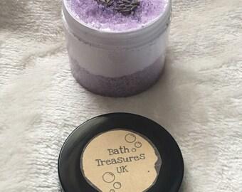 Dreamy lavender 2 in 1 bath cream and scrub