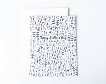 Pretty Mother's Day Card, Mother's Day Card