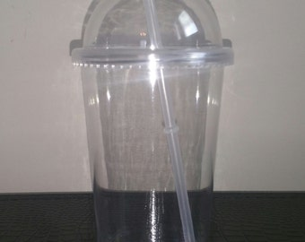 DIY clear acrylic 20 oz dome lid cup