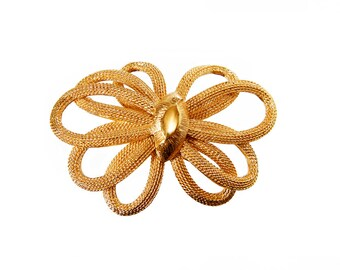 Vintage Gold Plated Brooch