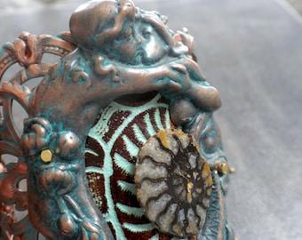 Mermaid Jewelry Statement Cuff Bracelet