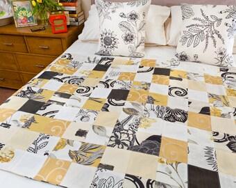 Handmade Patchwork Quilt - Counterchange