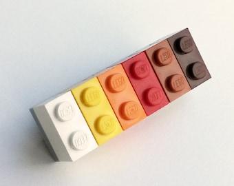 LEGO® multicoloured brooch - jewelry