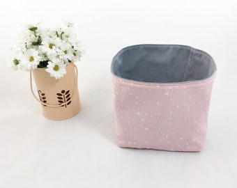 Star Pink storage basket