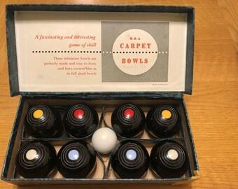 Carpet Bowl:  B & A Bowls, the Indoor Carpet Game
