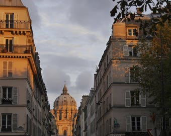 "Art Paris photograph ""Sunset on the Hall of Fame"""
