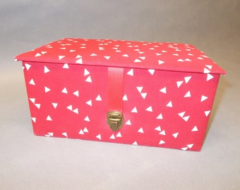 Box jewelry box couture, storage organization Decoration