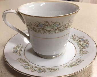 Towne House Delight Cup and Saucer