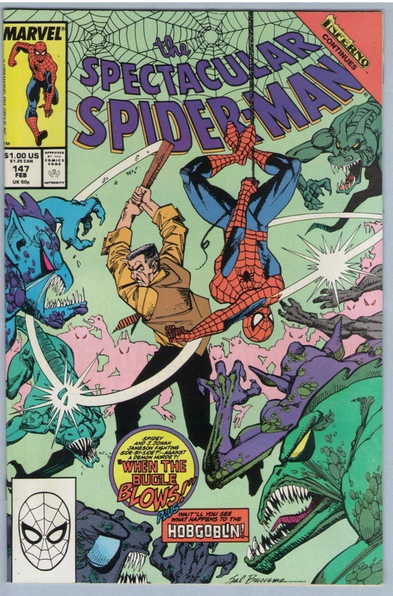Spectacular Spider-man 147 Feb 1989 NM- (9.2)