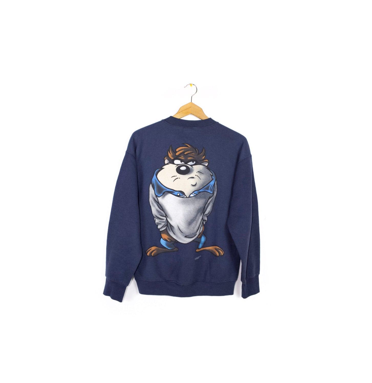 90s Taz Wear Sweatshirt Vintage 1990s Looney Tunes # Taz Muebles De Oficina