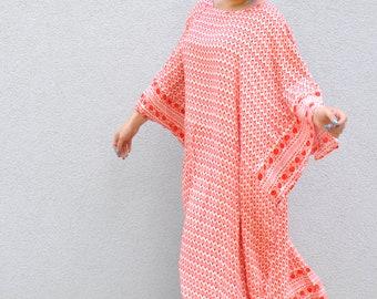 NEW Loose dress/Woman Maxi Caftan/Plus size tunic/Summer comfortable dress/Loose fit/Plus size caftan/Soft Viscose dress/Party dress/D1810