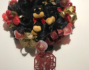 Chinese New Year wreath