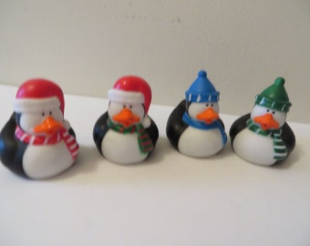 Penguin rubber ducks - these duckies are cool!