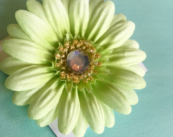 Green Collar Flower