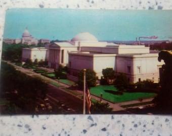 Collectible Washington D.C. Postcard: Washington DC National Gallery of Art