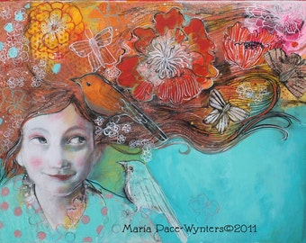 Special order for MB - 14 ACEOs Hope And Desires-  ACEO Fine Art Reproduction by Maria Pace-Wynters