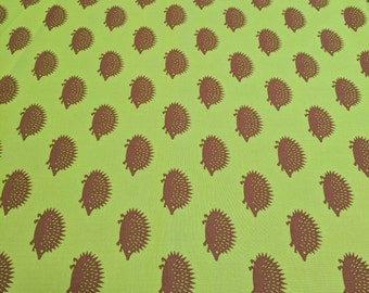 Neco-Spikey Hedgehog Cotton Fabric by Moda