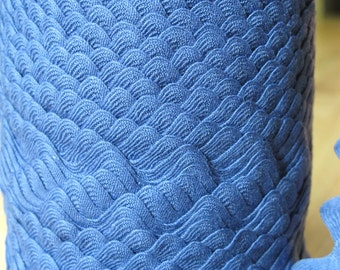 Vintage Cotton Ric Rac - Light Copen Blue - 3/4 Inch - 5 Yards - 6 Dollars
