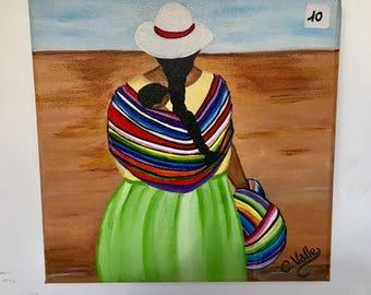 handmade painting, on canvas