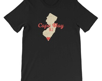 Cape May, Cape May New Jersey, Cape May tshirt, Cape May gift, Cape May t shirt, Cape May t shirts, love Cape May, Cape May NJ t shirt