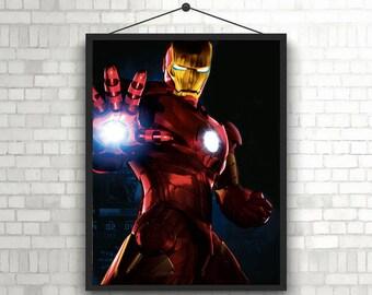 Iron Man The Avengers superhero Marvel poster