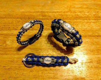 Yashaya Paracord Bracelet, Keychain, or Set
