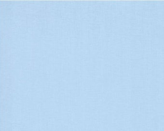 Bluebell - Bella Solids by Moda Fabrics - Baby Blue - 9900 141