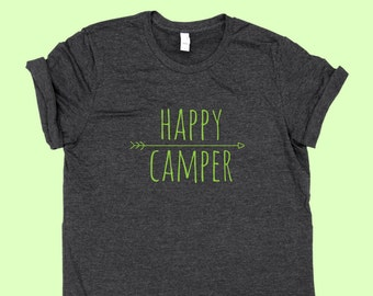 Happy Camper -  Jersey Unisex Camping Shirt
