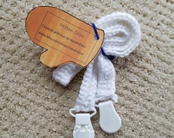 Mitten string, mitten clips, mitten keeper, custom colors and lengths